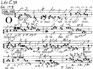 Gregorian Chant notation and the Semiological work of Dom Cardine