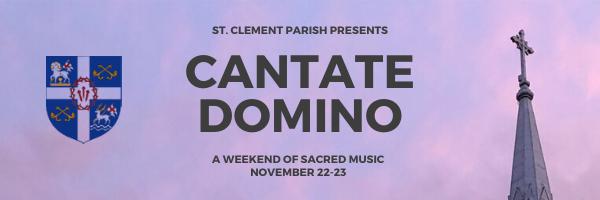 Cantate Domino in Ottawa!